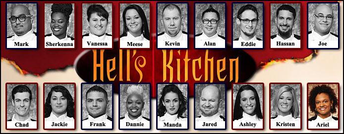 Hell's kitchen season 12 black jackets